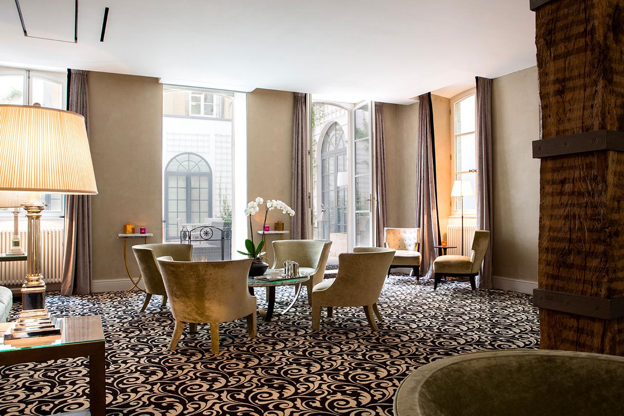 2 lobby hotel le place d armes luxembourg salon evenement for Salon armes