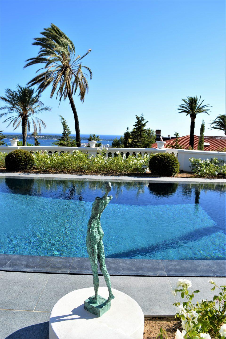 Courage. Estee Lauders villa. Cannes 960x1444 - Liné Ringtved Thordarson Sculptor