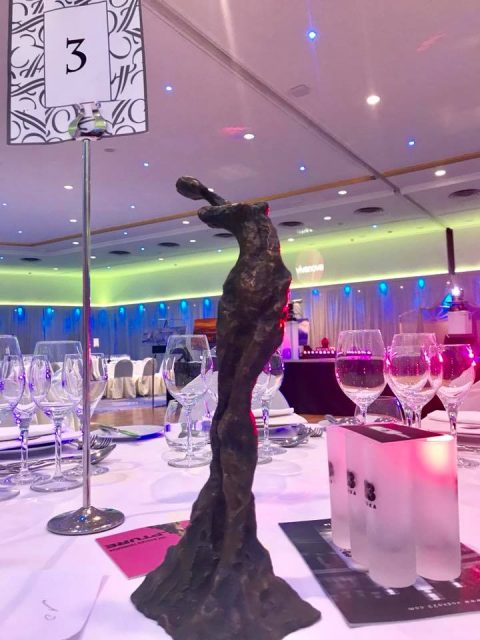 Gala Prince Albert Foundation and Club Vivanova 2018 480x640 - Liné Ringtved Thordarson Sculptor