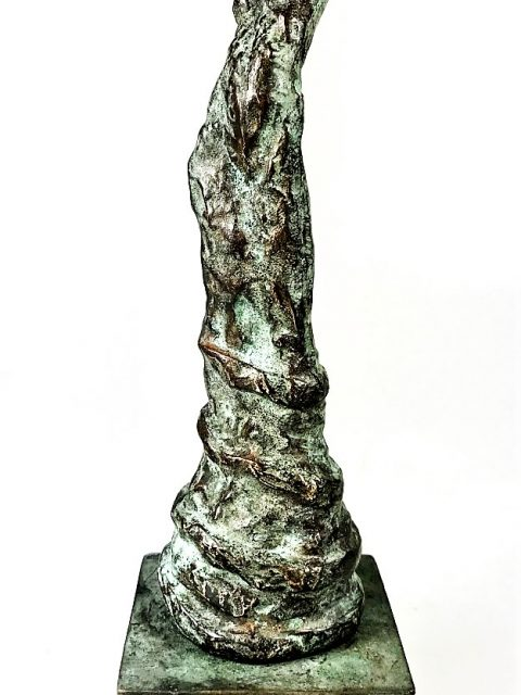 LINÉ Eze woman on bronze pedestal. 20 cm H 480x640 - Red Ivory Artists Catalogue