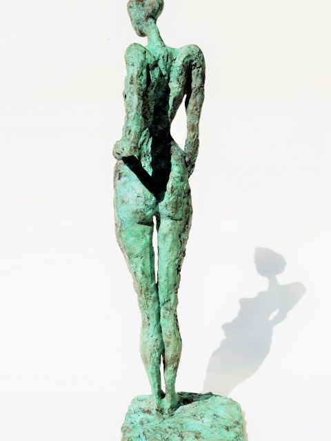 LINÉ Peace of Mind Back 480x640 - Bronze Sculptures of Liné Ringtved Thordarson