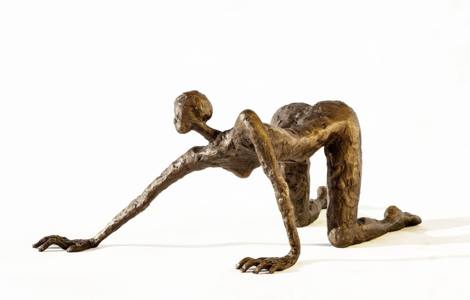 LINÉ Pleasure 40 cm L 960x613 - Bronze Sculptures of Liné Ringtved Thordarson