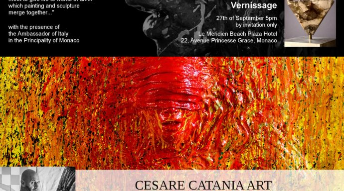 OFFICIAL INVITATION CESARE CATANIA VERNISSAGE 27 SEPT 2018 MONACO 1 1280x1280 690x384 - Cesare Catania Monaco Exhibition