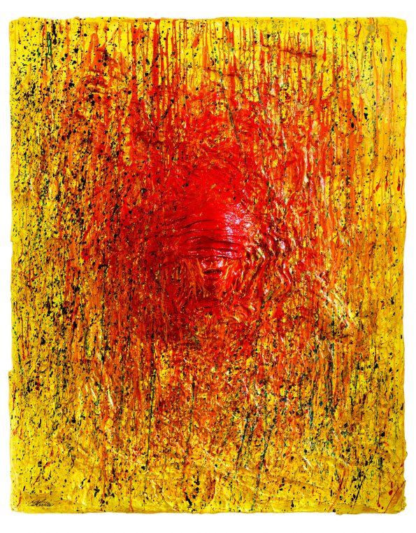 The Man who does not See Contemporary Artwork 595x761 - Cesare Catania Monaco Exhibition