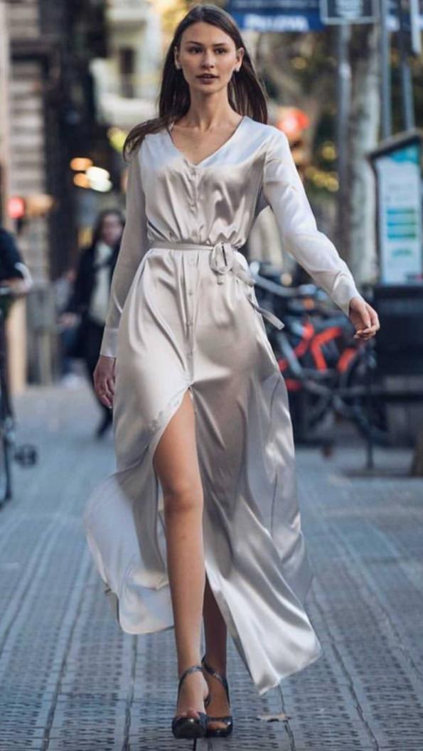 s vestido seda camisero platat453t5gt4 595x1056 - Laura Sors Collection