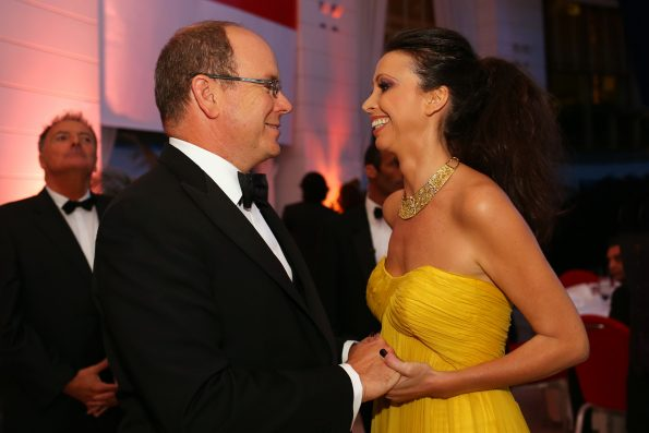Lorena Baricalla and Prince Albert of Monaco 595x397 - Lorena Baricalla, an extraordinary woman
