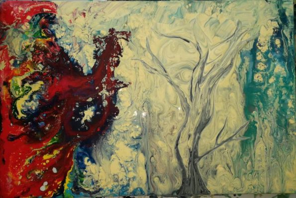 INFINITE INFUSION 1 595x398 - Jennita Narrain, the Mauritian painter