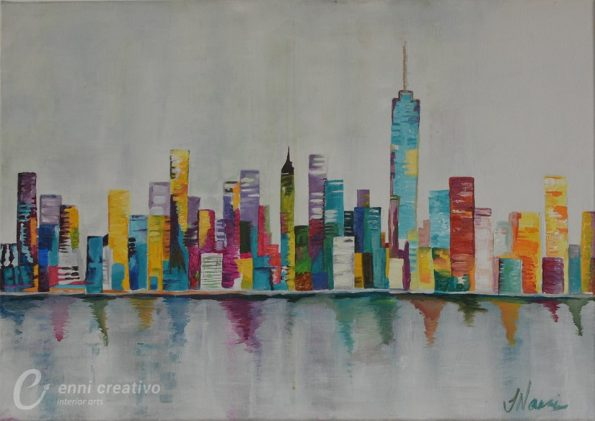NEW YORK CITY 595x421 - Jennita Narrain, the Mauritian painter