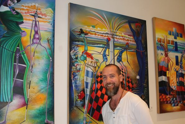Alexandre Latour 2 595x397 - Alexander Latour, Fine Art Dealer and founder of AYITI Gallery