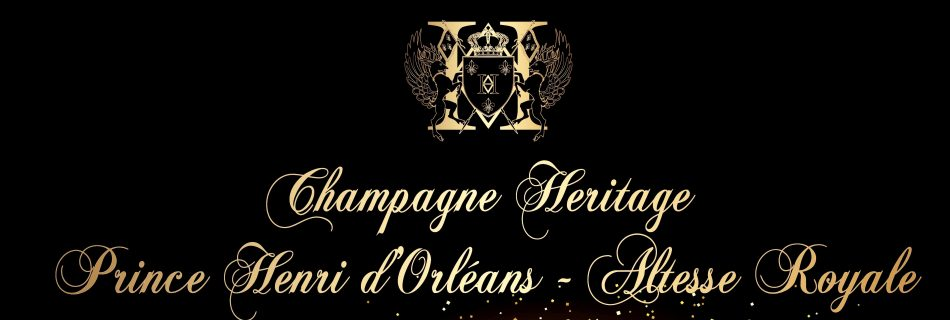 Champagne HERITAGE Prince Henri dOrléans Happy New Year 2019 MD copia 2 950x320 - Nina Vélez-Troya Ambassador of Champagne Heritage Prince Henri D'Orléans