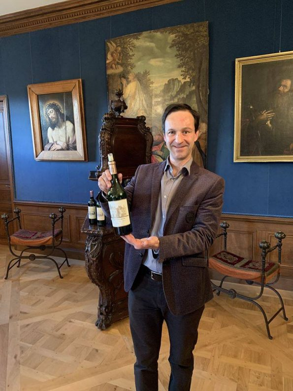 ThibautF1 1 595x793 - Thibaut Fourton, International Wine Expert Sommelier Consultant