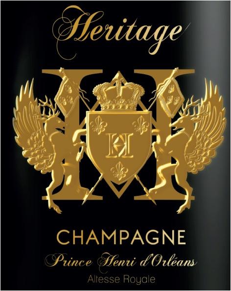 AFA - Nina Vélez-Troya Ambassador of Champagne Heritage Prince Henri D'Orléans