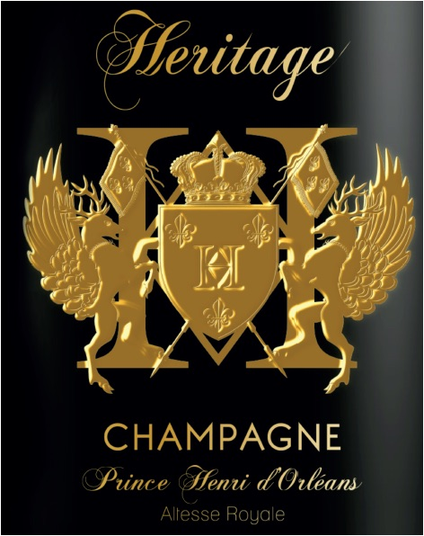 AFA - Royal Bubbles Champagne Heritage Prince Henri D'Orléans