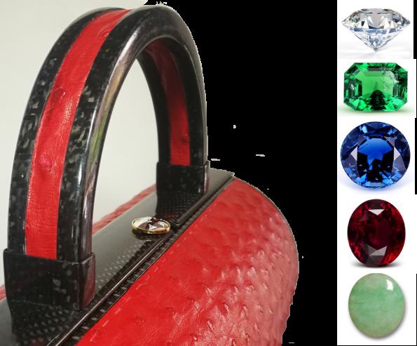 HandBag Précieux 595x493 - Stéphane Santucci,  the sensuality of a luxury leather good brand