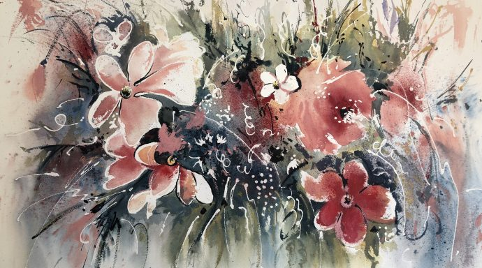 IMG 1357 690x384 - Emilia Lloret, the Master of the watercolor paintings