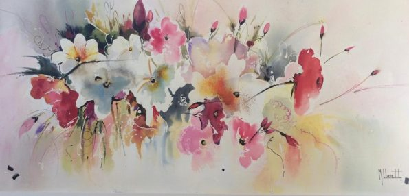WhatsApp Image 2019 01 29 at 11.43.226 595x286 - Emilia Lloret, the Master of the watercolor paintings