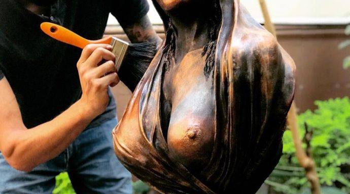 Image 19 690x384 - Events, exhibitions and sales of the sculptor Juan Carlos Aguilar