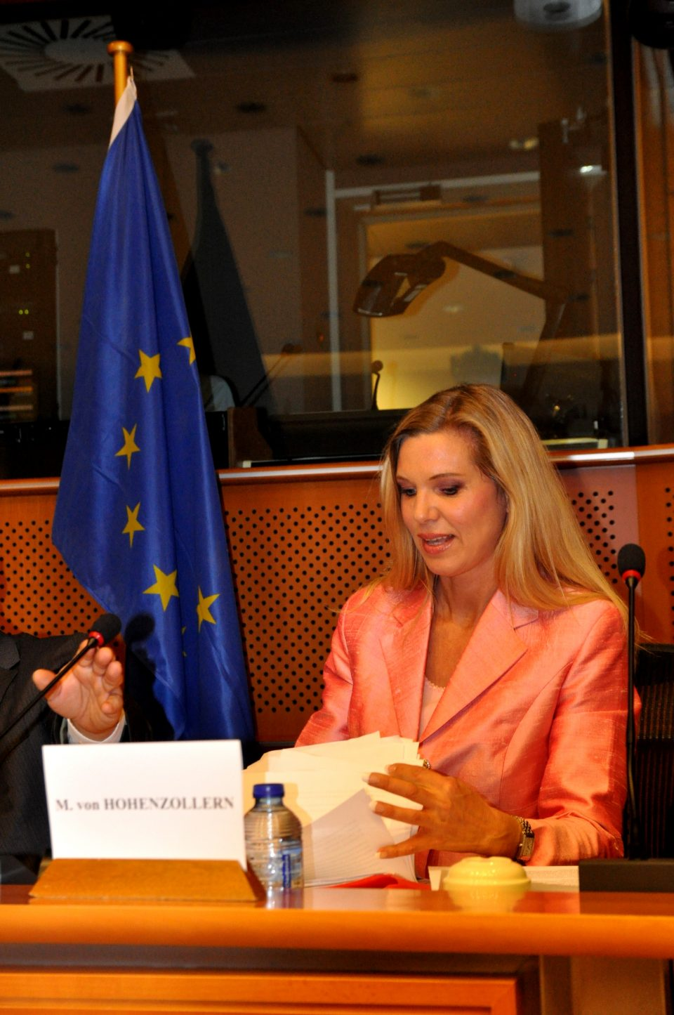 Princess Maja von Hohenzollern speaks before EU Parliament in Brussels  960x1445 - H.H. Princess Maja von Hohenzollern, a creative interior designer