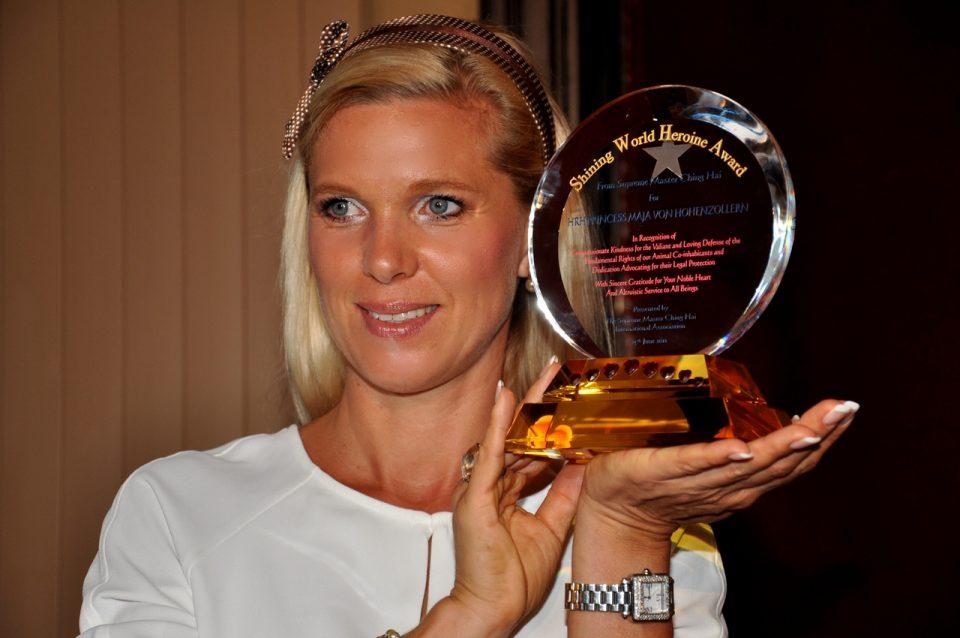 Princess Maja von Hohenzollern wins World Shining Heroine Award. 960x638 - H.H. Princess Maja von Hohenzollern, a creative interior designer
