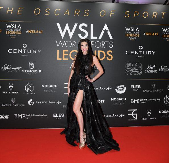 SAV 6141 595x574 - Lorena Baricalla, the  Ambassadress and Master of Ceremonies of the WSLA 2019
