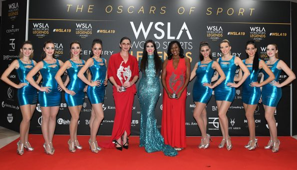 WSLA AFTER THE CEREMONY SAV 8304 595x341 - 4th Monaco World Legends Award, The Oscars of Sports