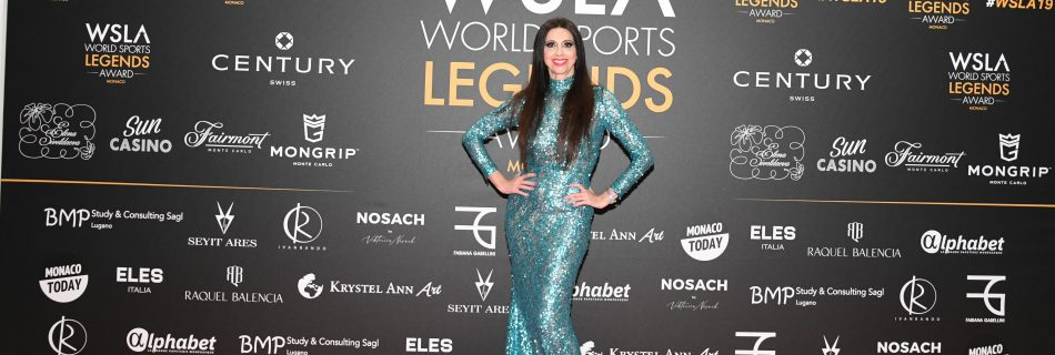 WSLA AFTER THE CEREMONY SAV 8485 950x320 - Lorena Baricalla, the  Ambassadress and Master of Ceremonies of the WSLA 2019