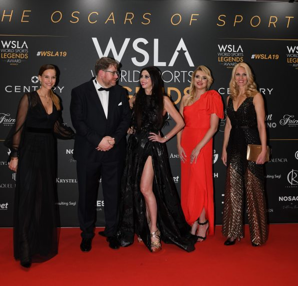 WSLA RED CARPET SAV 6303 595x571 - 4th Monaco World Legends Award, The Oscars of Sports