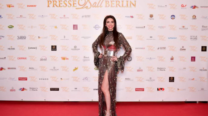 Presseball 2020 065 690x384 - PresseBall: Monaco conquers Berlin through the star Lorena Baricalla