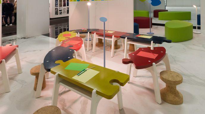 Jigsaw table 4 690x384 - Yasmine Mahmoudieh British architect and interior designer