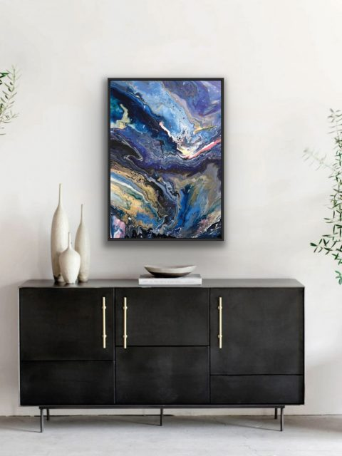 Galactic Image credit Croft House 480x640 - Livy Christie Art, the British Abstract Painter