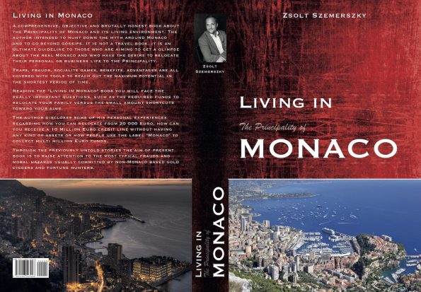 "Living in Monaco cover May 2019 595x413 - Living in Monaco, the final edition of the ""must-have"" book is coming in June"