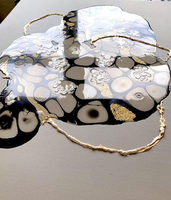 Memory Keeper  595x696 - Galina Shamaeva, Contemporary Abstract Artist