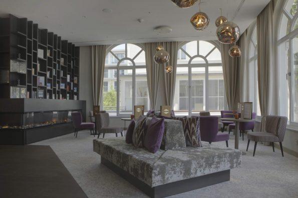 14 ATLANTIK FOYER 595x396 - Yasmine Mahmoudieh British architect and interior designer