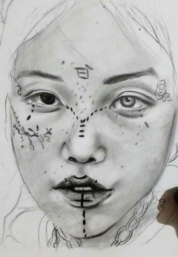 sjhj - Nessrine Abdelkader, Visual Tunisian Artist
