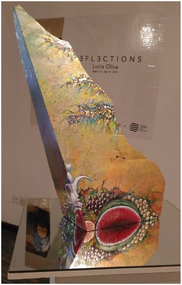 Lucia Oliva THE MIRAGE O 595x929 - Lucia Oliva, eclectic and self-taught Italian artist