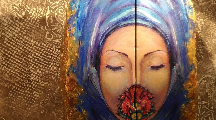 Lucia Oliva THE SCENT 690x384 - Lucia Oliva, eclectic and self-taught Italian artist