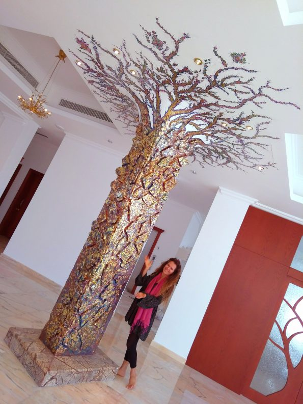 Lucia Oliva THE TREE OF LIFE 2 595x793 - Lucia Oliva, eclectic and self-taught Italian artist
