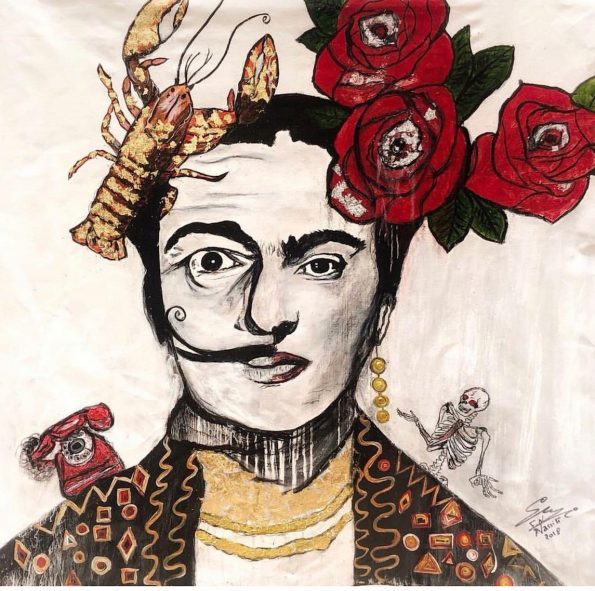 Fridalism 595x591 - Suzi Fadel Nassif Contemporary  Lebanese Artist