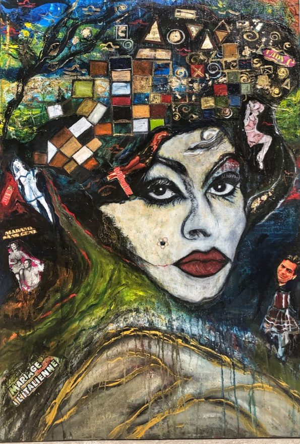 Sophias World 595x879 - Suzi Fadel Nassif Contemporary  Lebanese Artist