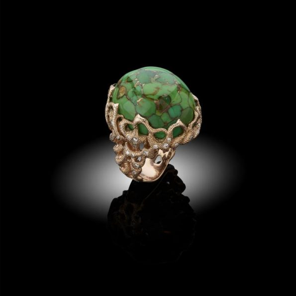 PAESAGGIO TOSCANO 595x595 - Davide Maule: Artist and Master Goldsmith of exclusive jewels