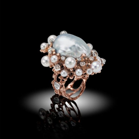 bubble 595x595 - Davide Maule: Artist and Master Goldsmith of exclusive jewels