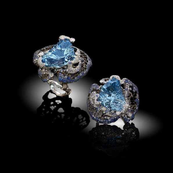isola del paradiso perduto 595x595 - Davide Maule: Artist and Master Goldsmith of exclusive jewels