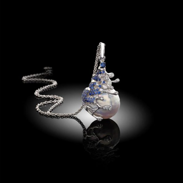 treasure of the sea 595x595 - Davide Maule: Artist and Master Goldsmith of exclusive jewels