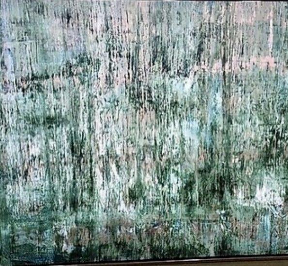 AF38A4F6 61F0 4D6E 9FA8 A89635132274 1 201 a 1 595x549 - Emma Stüffe, the Swedish abstract artist that puts her feelings in each artwork