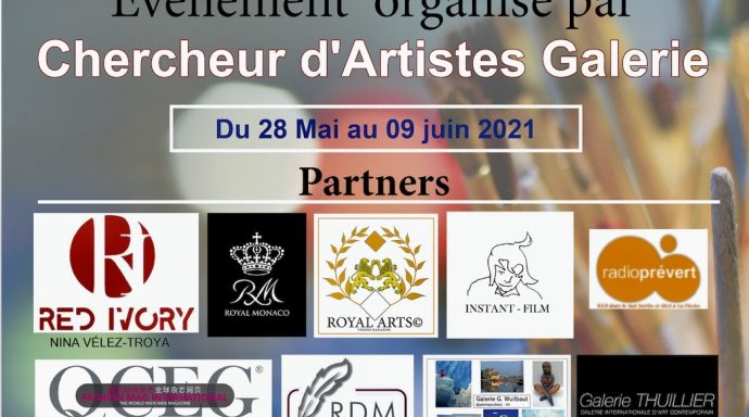 Captura de pantalla 2021 05 07 a las 17.54.36 690x384 - International Art EXPO organized by Chercheur d'Artistes Galerie