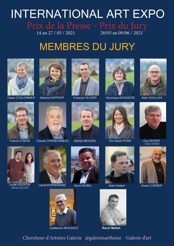 Raouf Meftah members jury 595x841 - International Art EXPO organized by Chercheur d'Artistes Galerie