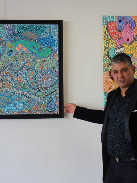 "196499503 284941333299009 5575993022242506682 n 480x640 - INTERNATIONAL ART EXPO , ""The Art of drawing LOVE"",  Raouf Meftah"