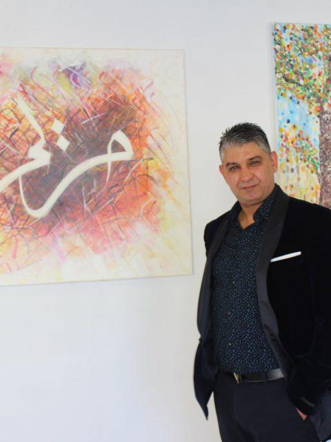 "197489864 284940379965771 194045703141376728 n 480x640 - INTERNATIONAL ART EXPO , ""The Art of drawing LOVE"",  Raouf Meftah"