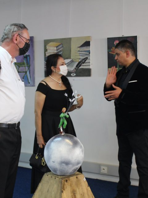 "197977717 284927373300405 2074389361677020053 n 480x640 - INTERNATIONAL ART EXPO , ""The Art of drawing LOVE"",  Raouf Meftah"