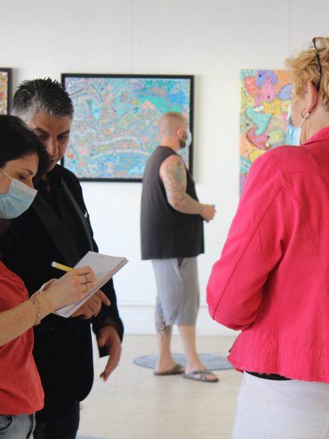 "198389974 284926243300518 4090730087216764543 n 480x640 - INTERNATIONAL ART EXPO , ""The Art of drawing LOVE"",  Raouf Meftah"